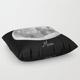 Moon #2 Floor Pillow