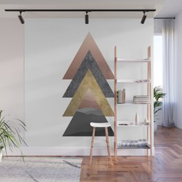 Valley, Scandinavian Modern Abstract Wall Mural