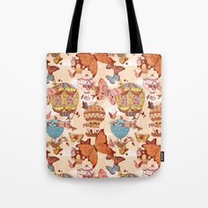 The Great Air Balloon Hunt Tote Bag