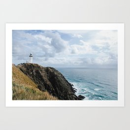 Lighthouse on Byron Bay Art Print