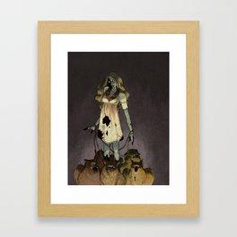 Zomberanians Framed Art Print