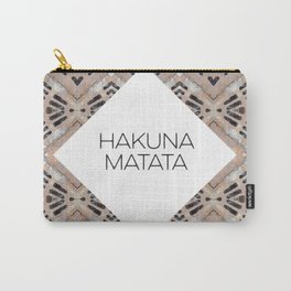 HAKUNA MATATA - URBAN JUNGLE PRINT Carry-All Pouch