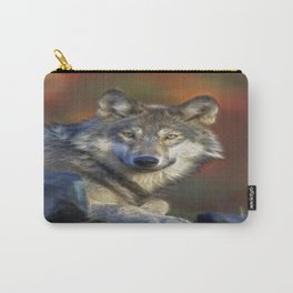 A Wolfs Life Carry-All Pouch