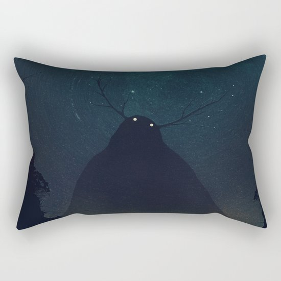 Stillness Rectangular Pillow