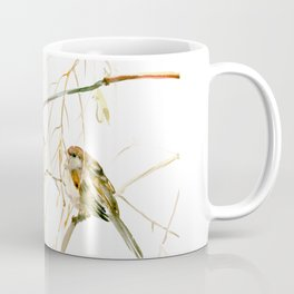 Sparrows on Tree Coffee Mug