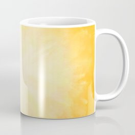 Golden Sunburst Coffee Mug
