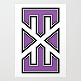 varsity.exe logo Art Print