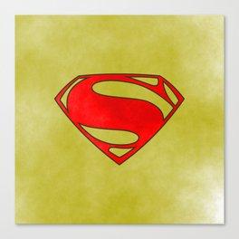 Super Hero, comics Canvas Print