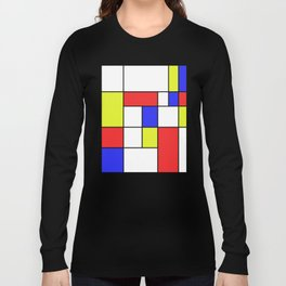 Mondrian #23 Long Sleeve T-shirt