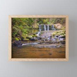 Omeru Reserve Falls Kaukapakapa 3 Framed Mini Art Print