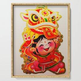 Chinese New Year #society6 #decor #buyart Serving Tray