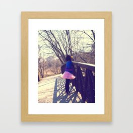 check this out! Framed Art Print