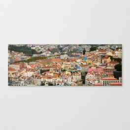 Lisbon From Above Canvas Print