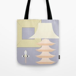 Mid-Century design, table lamp project Tote Bag