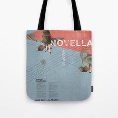 Novella- Mixed media Tote Bag