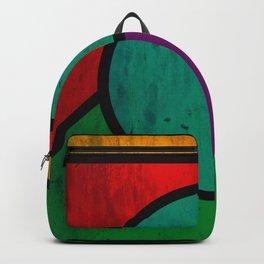 Rectangular art Backpack