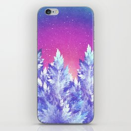 Winter's Night iPhone Skin