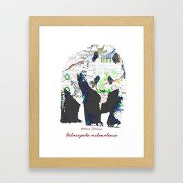 Natura Technica - Giant Panda Framed Art Print