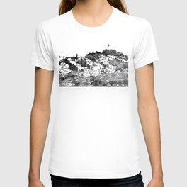 Telegraph Hill Print Black and Grey T-shirt