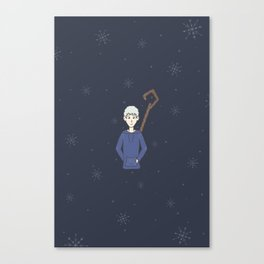 jack frost nipping at your nose Canvas Print