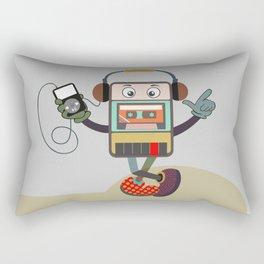 Retro Music Playlist III Rectangular Pillow