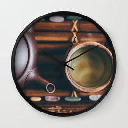 Gyokuro, with Love Wall Clock