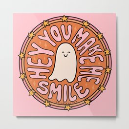You Make Me Smile Metal Print