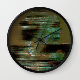 The departure of miyamoto musashi Wall Clock