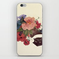flora iPhone & iPod Skins featuring FLORA by Pepper / Shop
