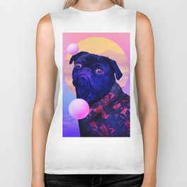 BatDog Summer Time Biker Tank