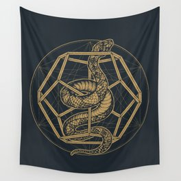 SACRED SERPENT Wall Tapestry