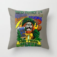March 17, 2004 at The Pyramid Throw Pillow
