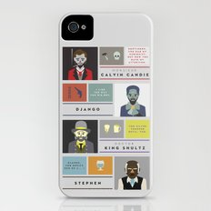 Django Unchained Character Poster iPhone (4, 4s) Slim Case
