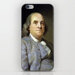 Benjamin Franklin iPhone Skin