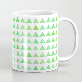 evergreen geometric pattern Coffee Mug
