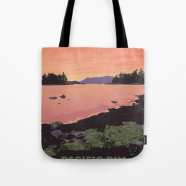 Pacific Rim National Park Reserve Tote Bag