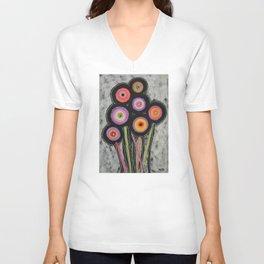 Flowers #6 Unisex V-Neck