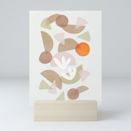Minimal Autumnal Dance 1 Mini Art Print
