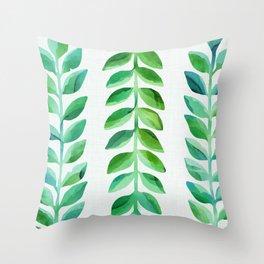 Leafy Goodness Throw Pillow