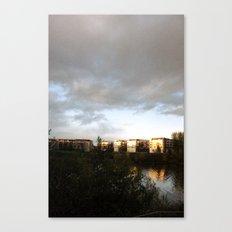 Warming Rays of Light Canvas Print