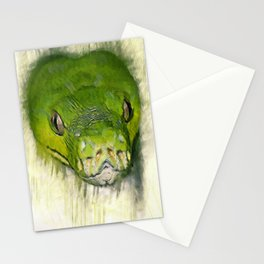 Python Art Stationery Cards