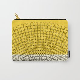 Sunflower Geometric Pattern Carry-All Pouch