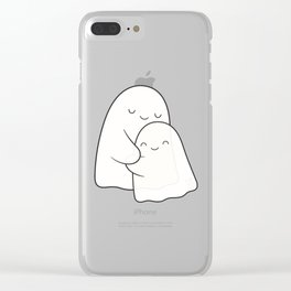 Ghost Hug - Soulmates Clear iPhone Case