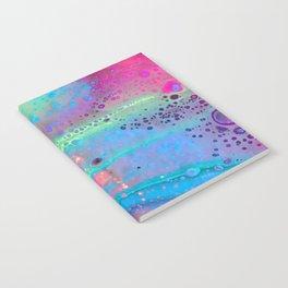 Neon Melt Notebook