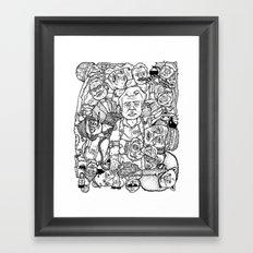 Murray Pile-Up Framed Art Print