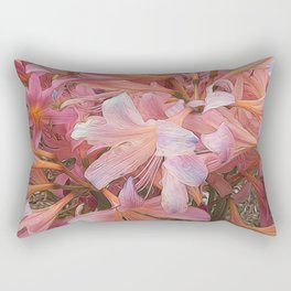 Amaryllis Belladonna Rectangular Pillow