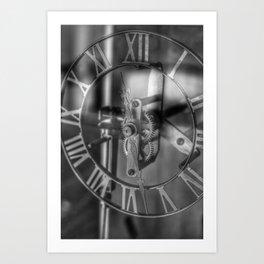 Time Frame Art Print