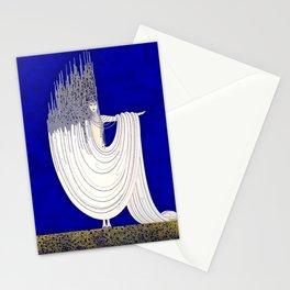 """North Sea"" Art Deco Design Stationery Cards"