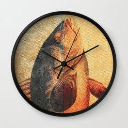 Piscibus 9 Wall Clock