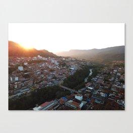 San Gil Sun Canvas Print